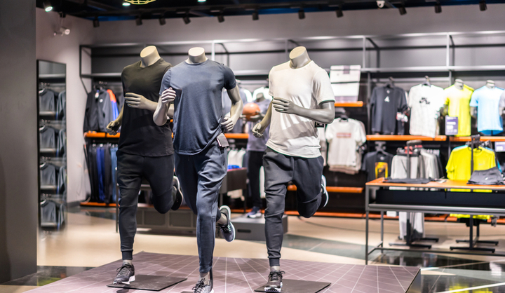 rentabilité magasin habillage sport